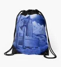 The Tower of the Moon Drawstring Bag