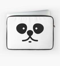 Cute Panda Face Laptop Sleeve