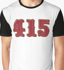 San Francisco LYFE the 415!!! Graphic T-Shirt
