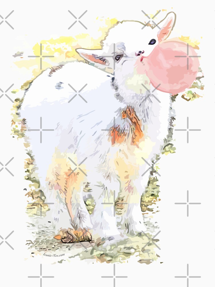 Little Goat Bubble Gum by IconicTee