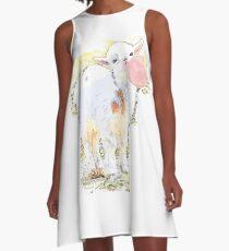 Little Goat Bubble Gum A-Line Dress