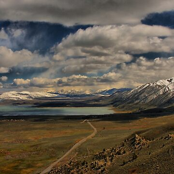 The Road to Mono Lake by lenzart