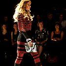 Diet Coca Cola Little Black Dress Show - Elyse Taylor by David Petranker