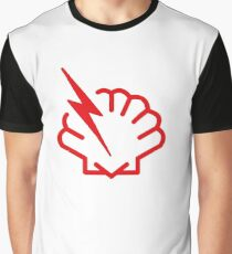 Shellshock bug T-Shirt for hackers and Cybersecurity Technicians Graphic T-Shirt