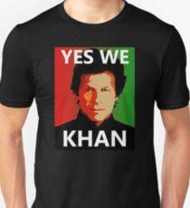Yes We Khan - Imran Khan Pakistan Prime Minister Unisex T-Shirt