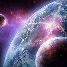 Sci-Fi Planet Concept Art von Sandra Süsser