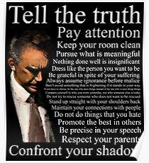 Jordan Petersons Ratschlag Poster