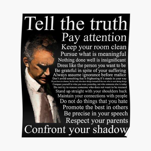 Jordan Peterson's Advice Poster