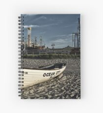 Ocean City New Jersey Spiral Notebook