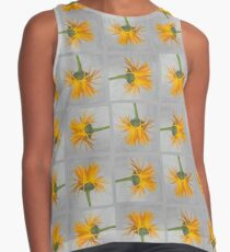 Marigold with Punk Hairstyle Contrast Tank