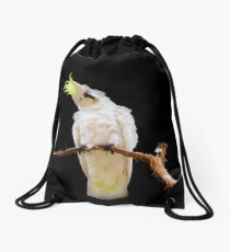 Sulphur-crested Cockatoo Drawstring Bag