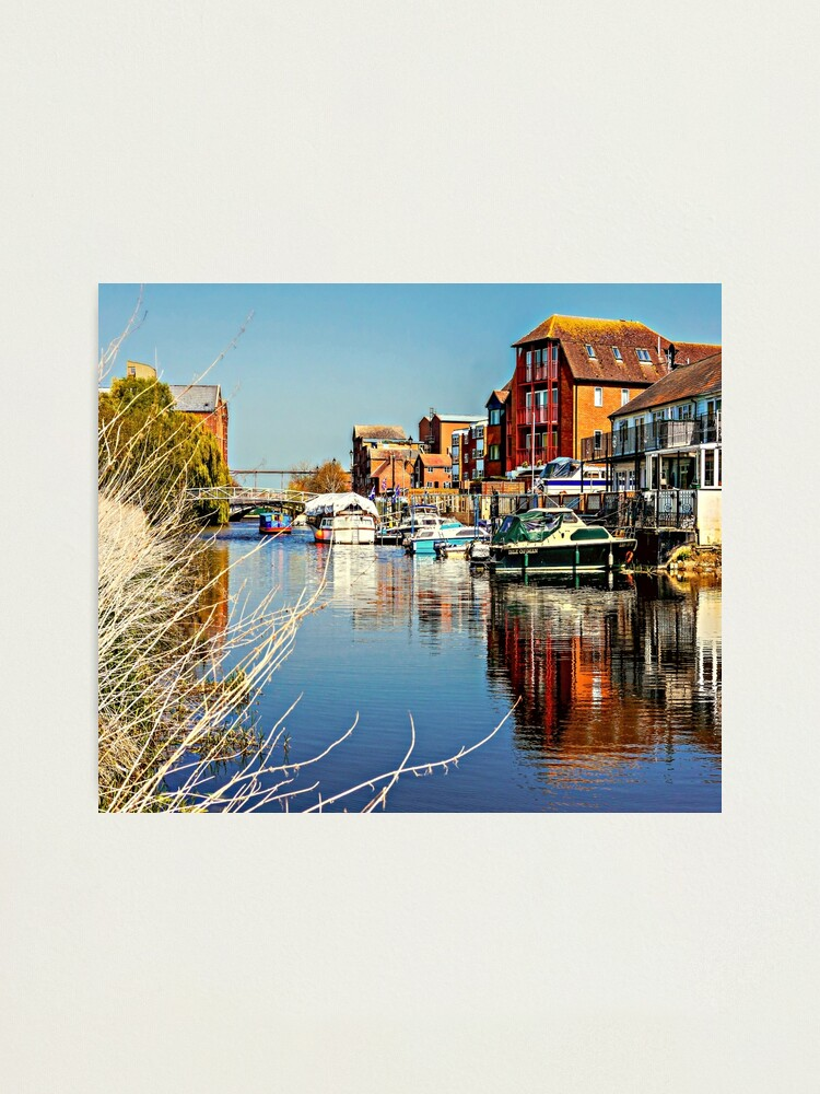Alternate view of  At the riverside. Photographic Print
