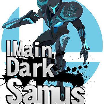Super Smash Bros. Ultimate - I Main Dark Samus by PrincessCatanna