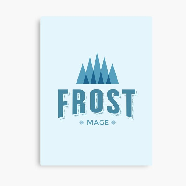 WoW Brand - Frost Mage Canvas Print