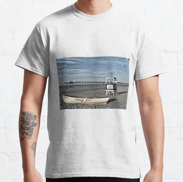 The Beach At Ocean City, NJ Classic T-Shirt