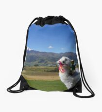 Horses are for losers Drawstring Bag