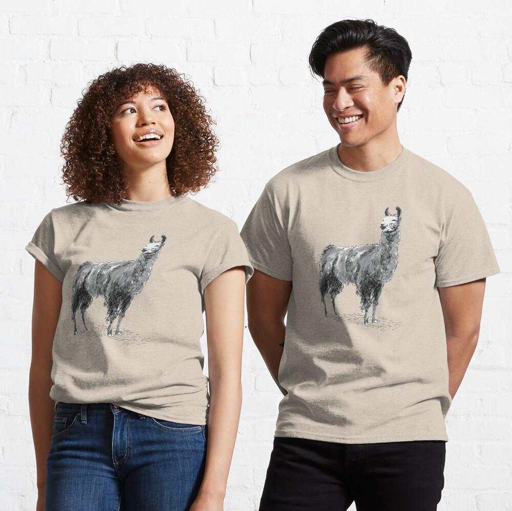 Happy Llama Classic T-Shirt