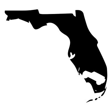 Florida Jeep Wrangler State Pride by ccheshiredesign