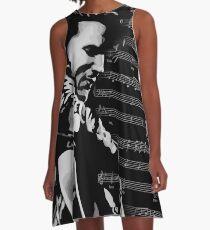 Elvis Music A-Line Dress