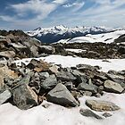 Rocky Whistler Snow by BenClarkImagery