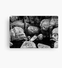 Boulders Canvas Print