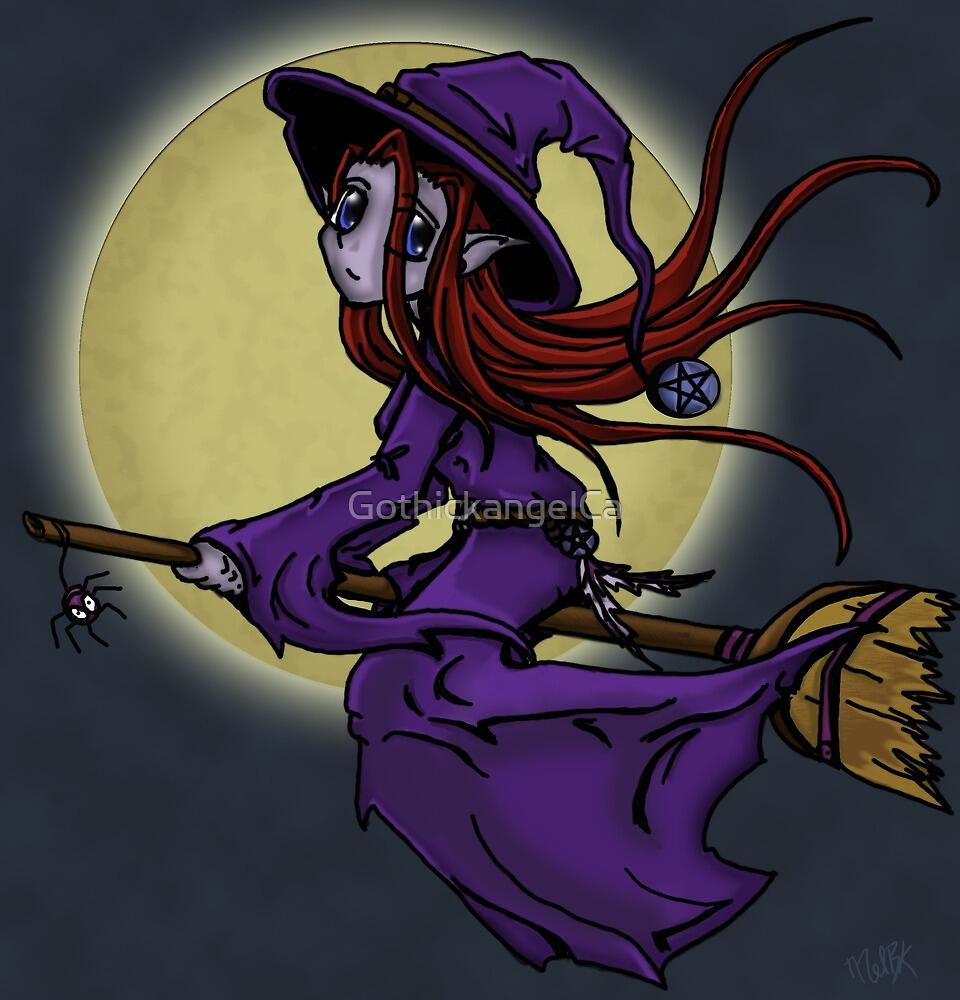 Moonlight Witch by GothickangelCa