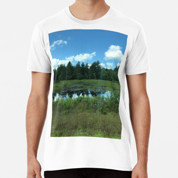 Tree Reflections Premium T-Shirt