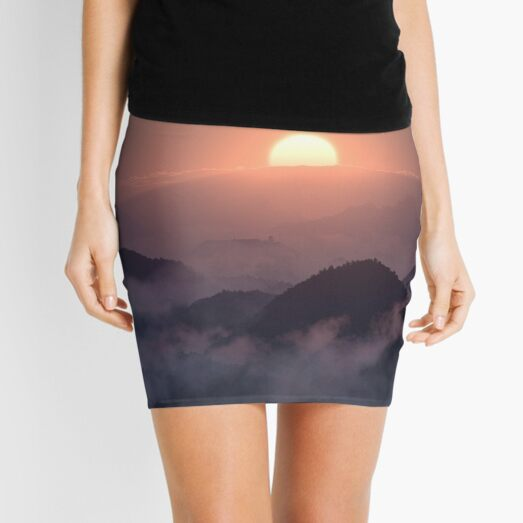 Peace in the Valley Mini Skirt