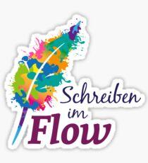 Schreibrausch - Schreiben im Flow Sticker