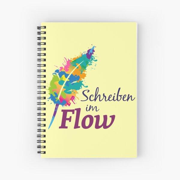Schreibrausch - Schreiben im Flow Spiralblock