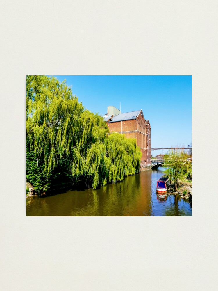 Alternate view of Historic Flour Mill. Photographic Print
