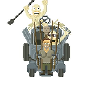 Mad Max - Fury Road by Gwendal