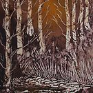 The Forest between the trees by linmarie
