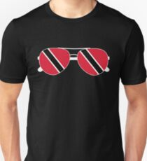Trinidad and Tobago Sunglasses T-Shirt Trinidian Flag Tee Unisex T-Shirt