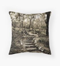 Just a few more steps ... Throw Pillow