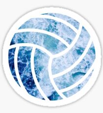 Volleyball Ocean Sticker