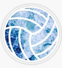 Volleyball Ozean Transparenter Sticker