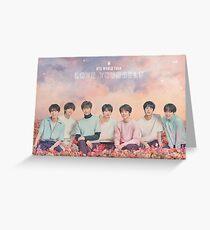 BTS (방탄 소년단) LIEBE DEINE WELT TOUR Grußkarte