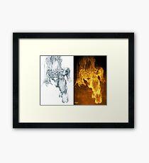 Balrog of Morgoth Progression Framed Print