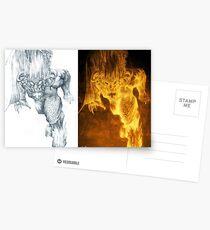 Balrog of Morgoth Progression Postcards