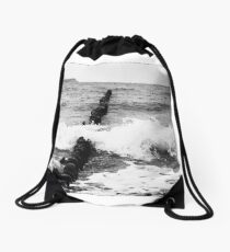 Baltic Waves 2 Drawstring Bag