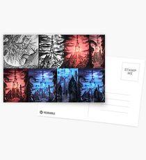 Thangorodrim Progression Postcards