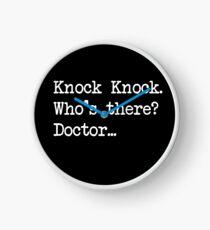 Knock-Knock 3 Clock