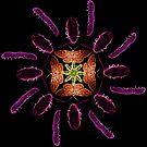 Neon multi bug circle pattern by errorface