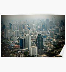 Bangkok, cityscape Poster