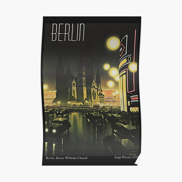 Berlin at Night, 1939 Poster