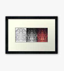 The Dark Tower Progression Framed Print