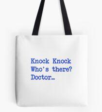 Knock-Knock 4 Tote Bag