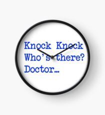 Knock-Knock 4 Clock