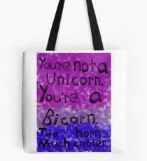 Coming Out: Bisexual (1) Tote Bag